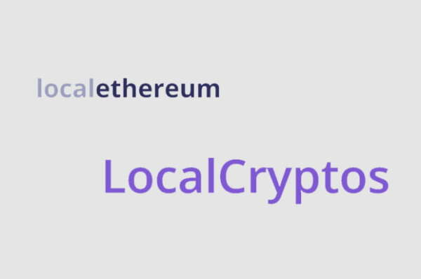 LocalEthereum P2P exchange re-brands to LocalCryptos to support bitcoin