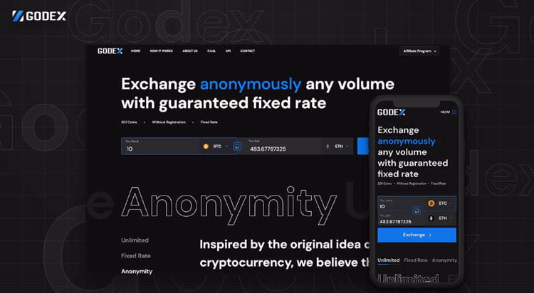 Not Just A Redesign Crypto Exchange Godex Upgrades To A Whole New
