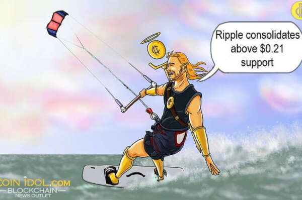 Ripple Faces Rejection at $0.2350 Resistance, Consolidates Above $0.21 Support